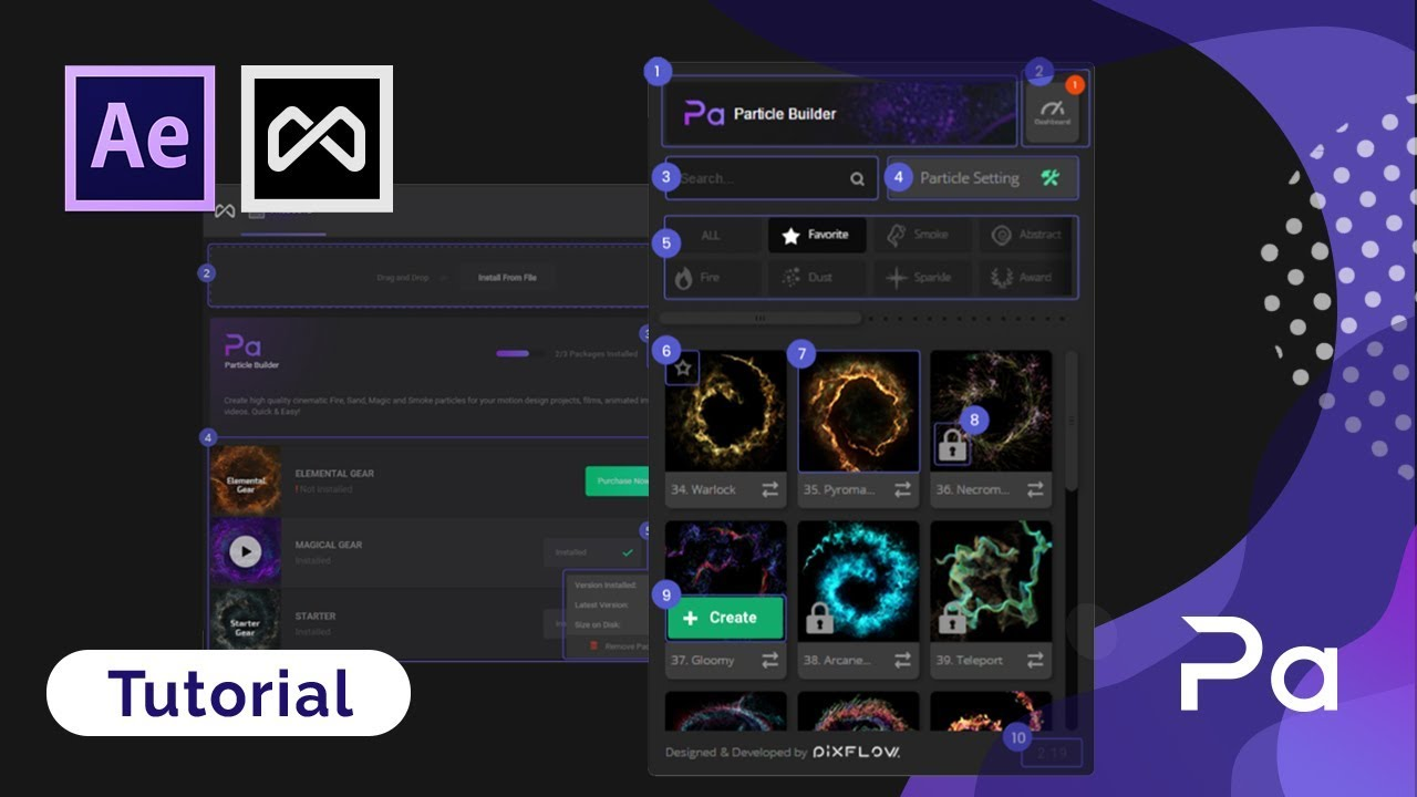Free Download | Elemental FX After Effects Particle Effect Plugin