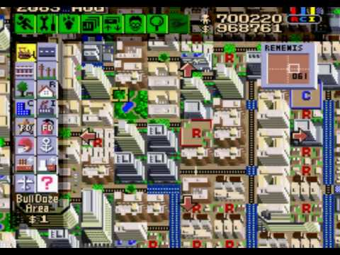 sim city snes megalopolis 700 000 youtube rh youtube com Super Bomberman SNES SNES SimCity Strategy