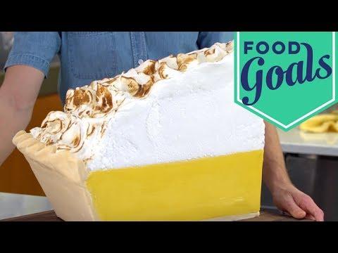 Lemon Meringue Pie Slice Cake | Food Network