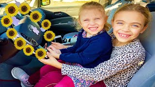 We are in the car Kids Songs   Wheels on the bus   Nursery Rhymes Melly Karamely
