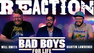 Bad Boys For Life Official Trailer REACTION!!