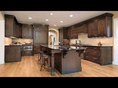 Kitchen With Wood Backsplash (see description) (see description)