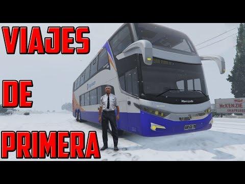 GTA 5 ONLINE MODS | VIAJES DE PRIMERA CLASE CON MIGO | CAMIÓN DE DOBLE PISO | TheAxelGamer