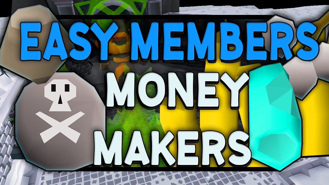 low level member money making runescape
