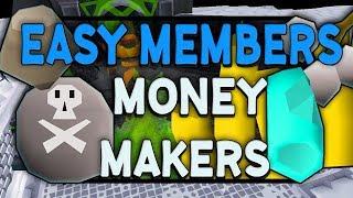 Best OSRS Low Level Member Money Making Methods [In-Depth]