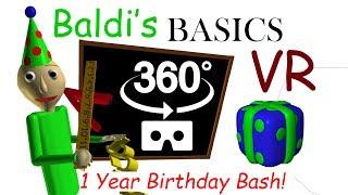 Baldi's Basics Birthday Bash VR 360