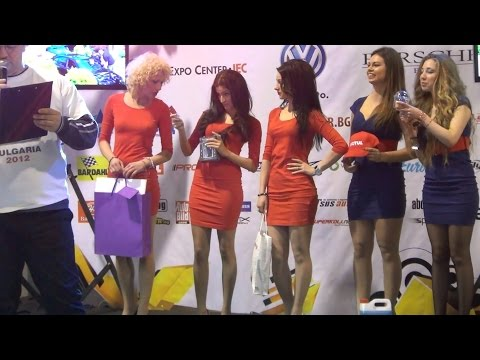 Girls Of Volkswagen Club Fest 2014 In 3D 4K UHD