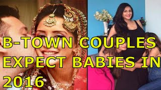10 Celebrity Couples Who Are Expecting Babies In 2016 | BollyWood Height