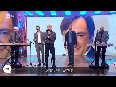 """Luca e Paolo cantano """"Caressa"""" con i Decibel - Quelli che il calcio 18/02/2018"""
