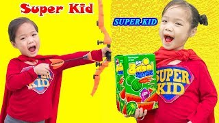Siêu Anh Hùng Nhí Tốt Bụng ❤ Kẹo Bigbabol Dưa Hấu - Trang Vlog