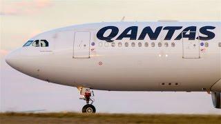 epic cf6 spool   qantas a330 202 takeoff melbourne airport vh ebc