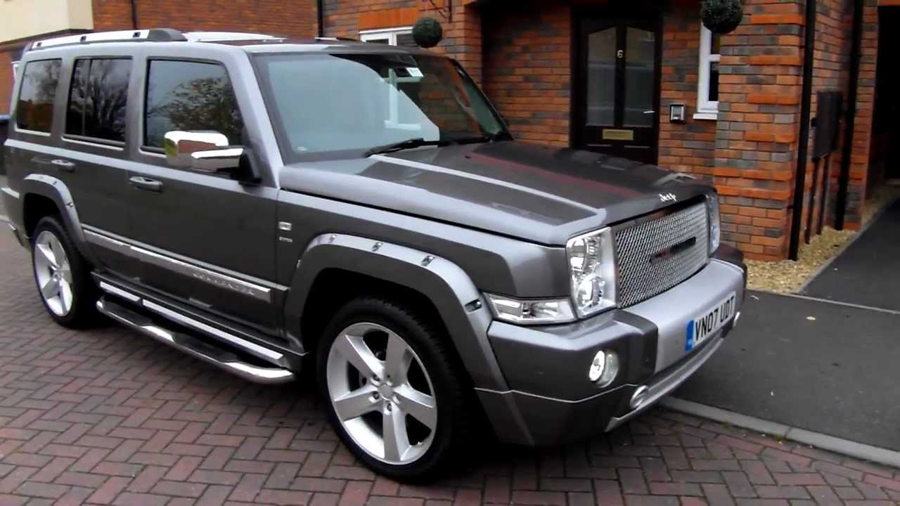 UK JEEP Startech Commander CRD for sale - YouTube