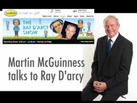 Martin on Ray D'arcy Show