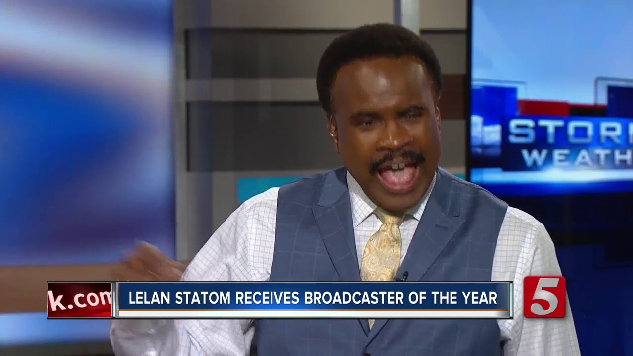Meteorologist Lelan Statom awarded Broadcaster of the Year at National Weather Association