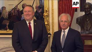Pompeo Meets wth Lawmakers About Transition