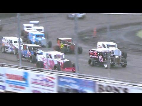 Dwarf Cars MAIN  5-14-16  Petaluma Speedway