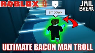 ULTIMATE BACON HAIR TROLLING | Roblox Jailbreak