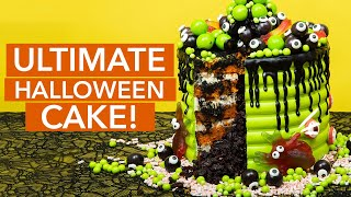 ULTIMATE Halloween Cake! | Trick Or Treat | How To Cake It with Yolanda Gampp
