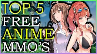 Top 5 FREE Anİme MMO Games 2020