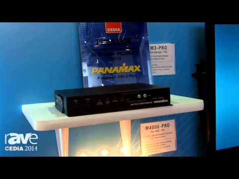 CEDIA 2014: Panamax Intros BlueBOLT Enabled SM3-Pro System, M4000-Pro for Power Management