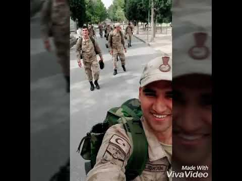 Bizler Atatürk'ün askerleriyiz ayık olun Vatan bize emanet.