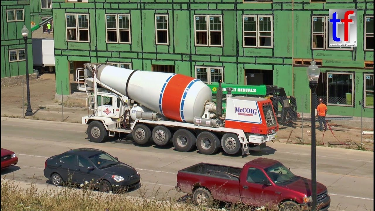 Phoenix Front Discharge Concrete Mixer Cat 289 Detroit
