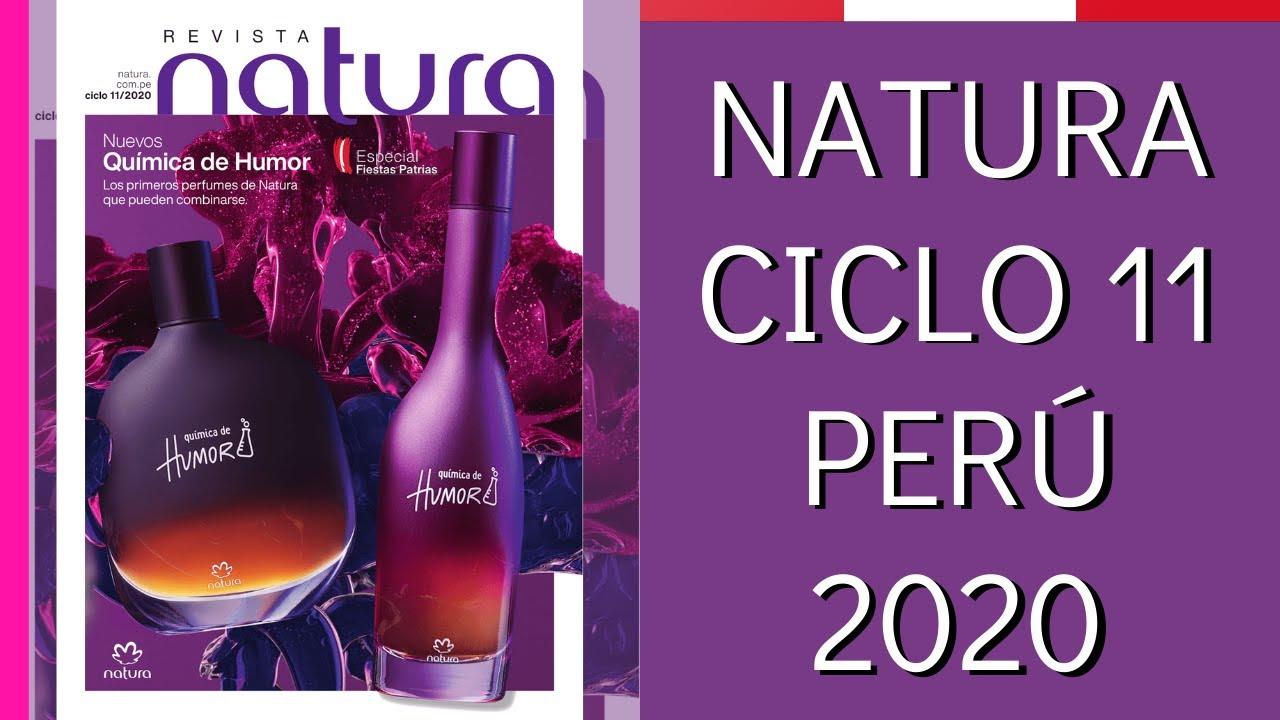 CATÁLOGO NATURA CICLO 11 - PERÚ 2020