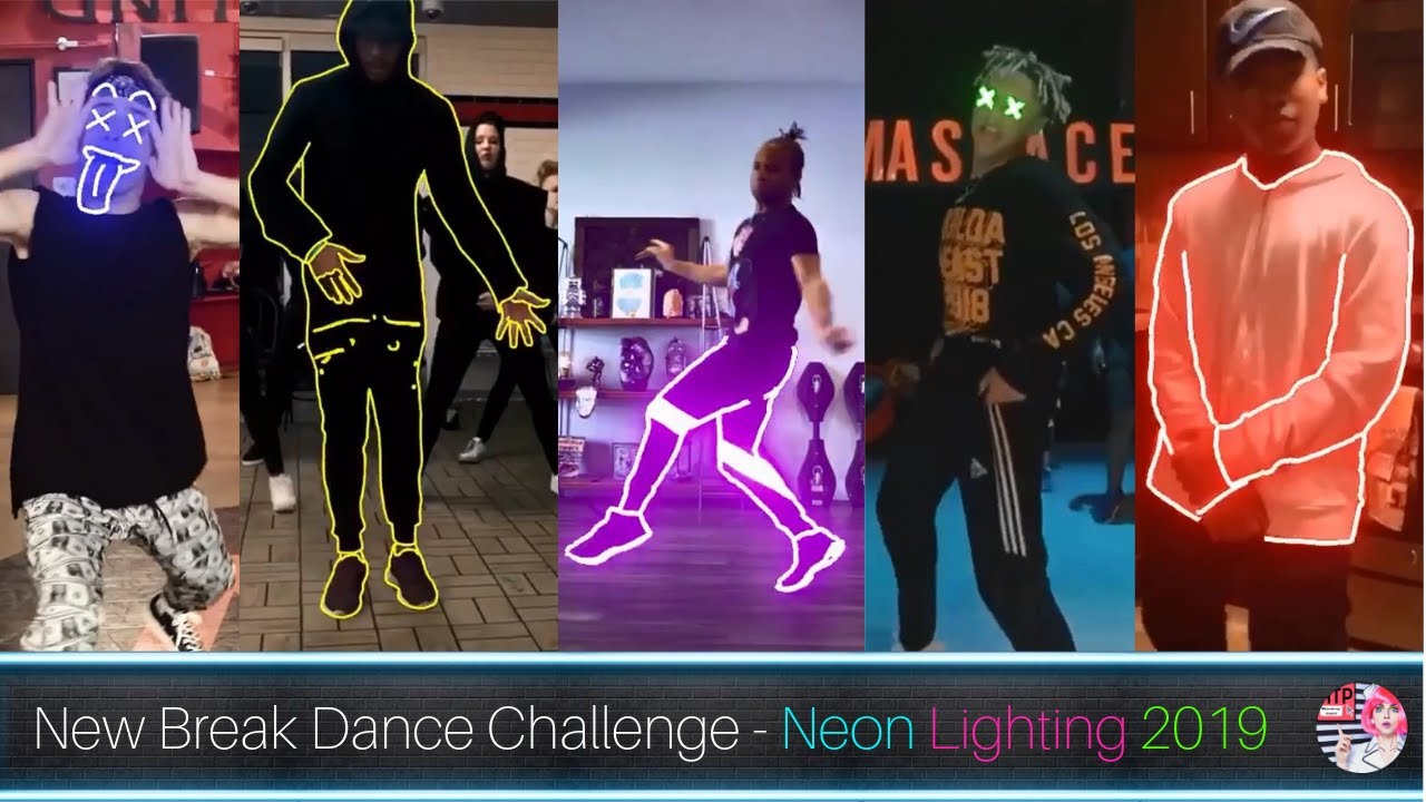 Break Dance Challenge 2019, ?Neon Lighting Breakdance