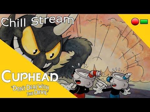 Internet Jesus Chill Stream: Cuphead Blind Part 8: It's Metal Slug all over again