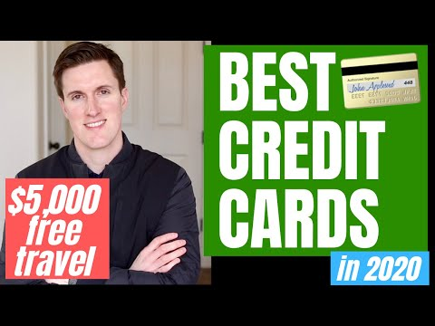 Best Credit Cards (2020) || Credit Cards For Travel And Free Cash