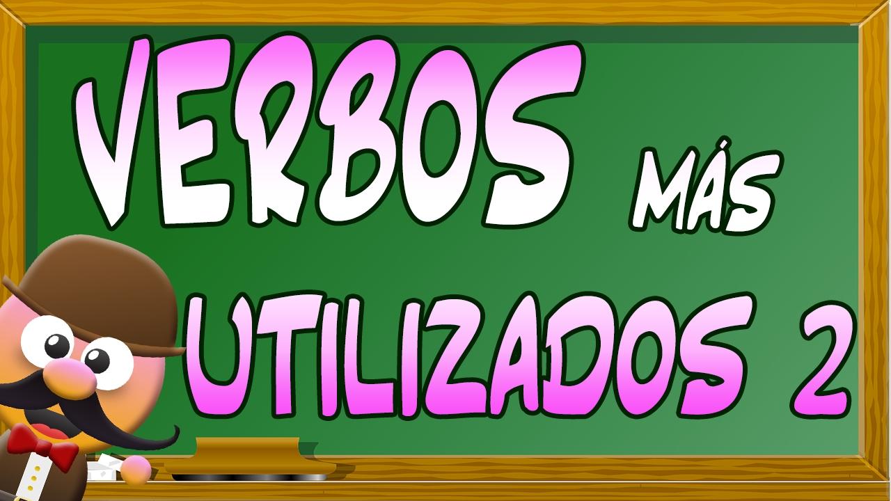 Verbos Más Usados En Inglés 2 Inglés Para Niños Con Mr Pea
