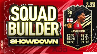 Fifa 21 Squad Builder Showdown!!! INFORM STRIKER RASHFORD!!!