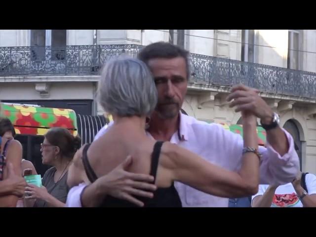 Flashmob tango
