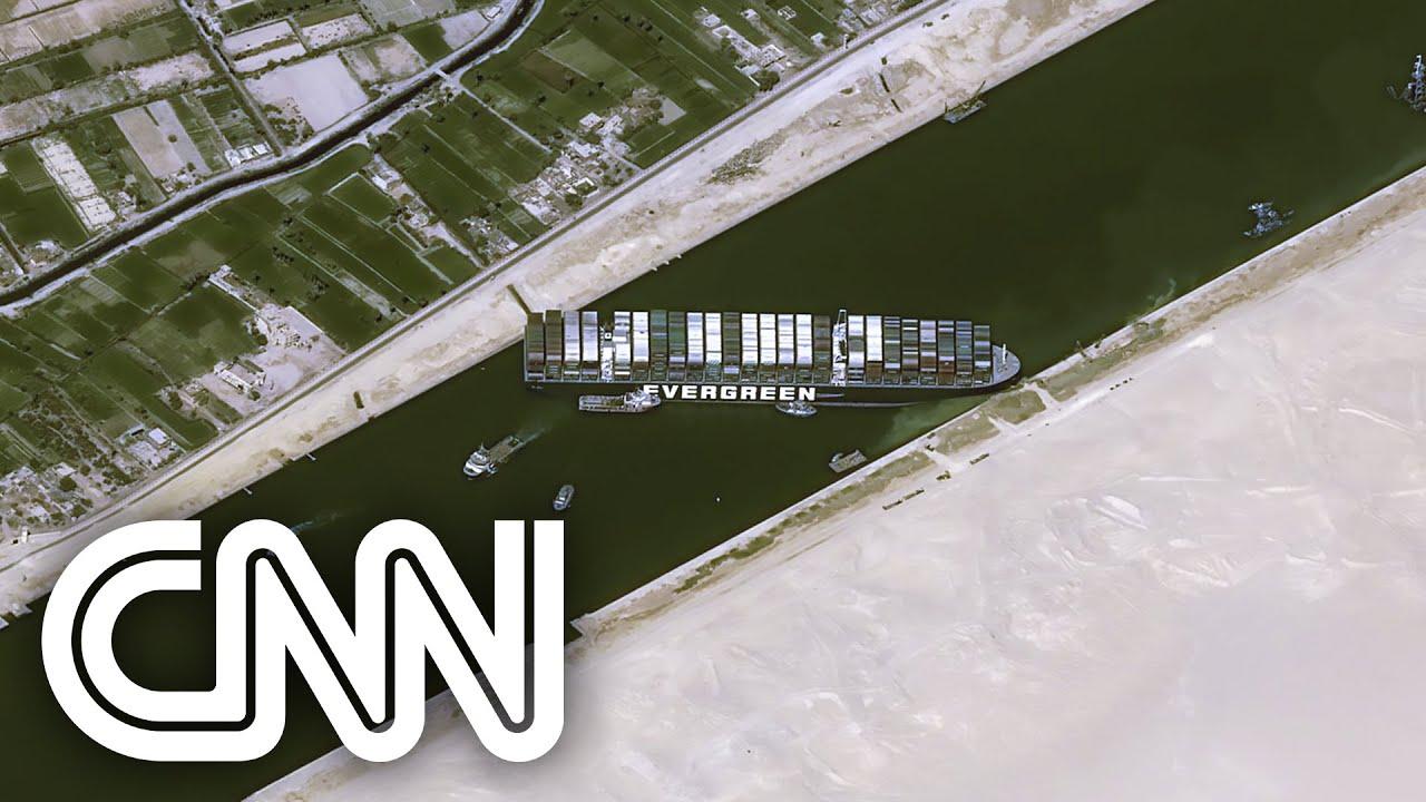 Impacto devido ao encalhe no canal de Suez