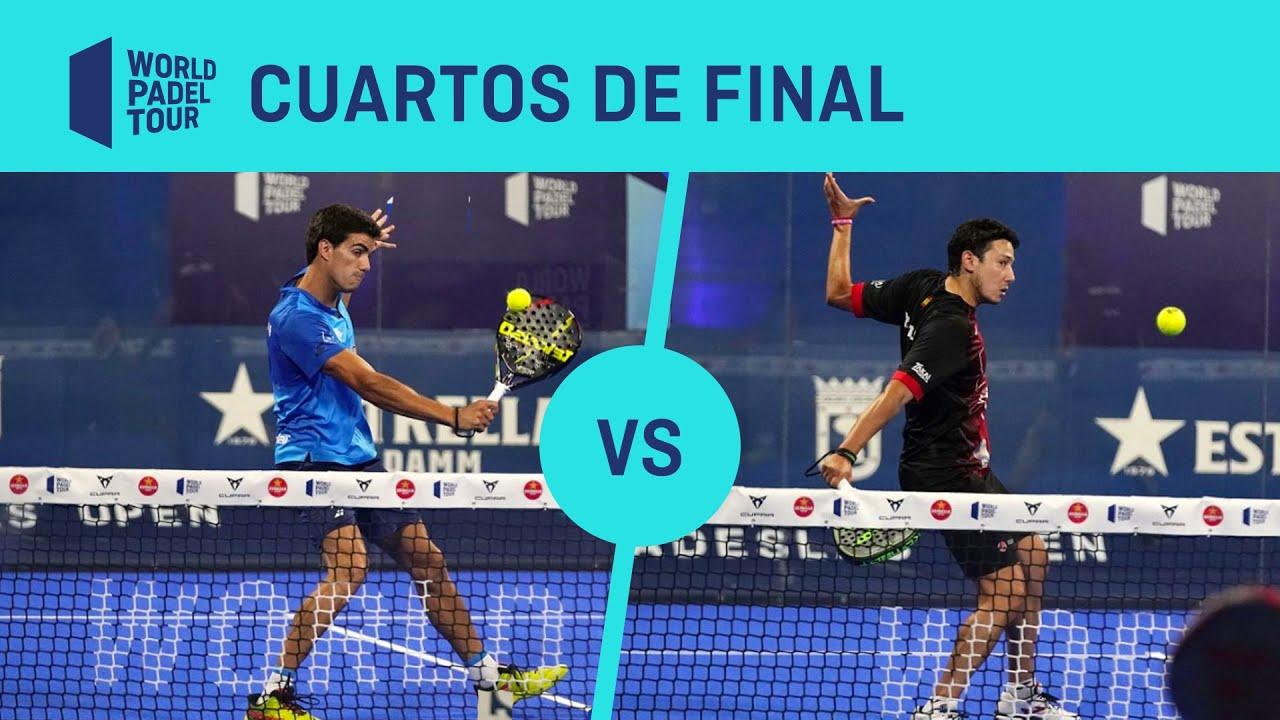 Resumen Cuartos de Final Galán:Lebrón Vs Botello:Ruiz ADESLAS Open