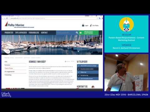 JAB16 - Pattern Based Responiveness - Content Marketing Evolved