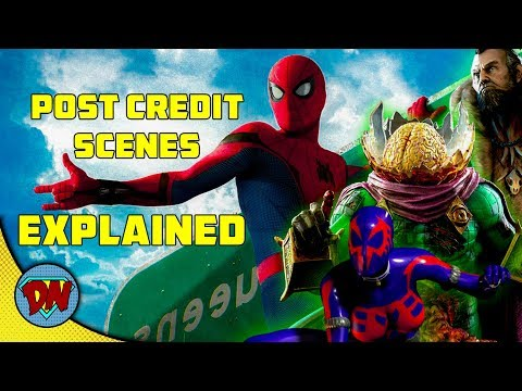 Spider-Man Homecoming Post Credit Scenes | Explained in Hindi