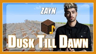 Скачать Dusk Till Dawn ZAYN But Its Played With Minecraft Note Blocks With Lyrics Ft Sia