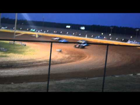 11 year old jordan fowler heat race 8/ 23/14 golden isles speedway 440