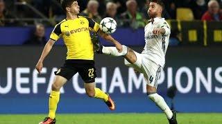 Real Madrid 2-2 Borussia Dortmund | GOALS: Benzema x 2, Aubameyang, Reus |LIVE MATCH REVIEW