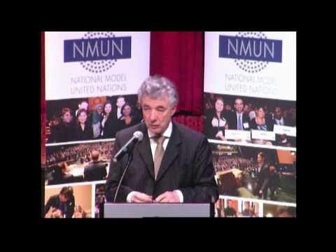 NMUN•NY 2014 Conf. B Opening Keynote, H.E. Thomas Mayr Harting