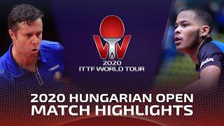 Владимир Самсонов vs Alexandre Cassin | Hungarian Open 2020 (R32)