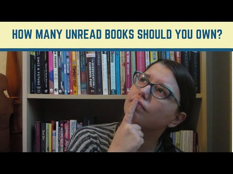 How Many Unread Books Should You Own?