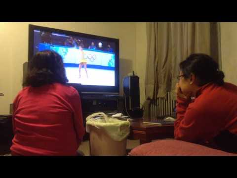 2014 Winter Olympics Women's Figure Skating Short program reaction video