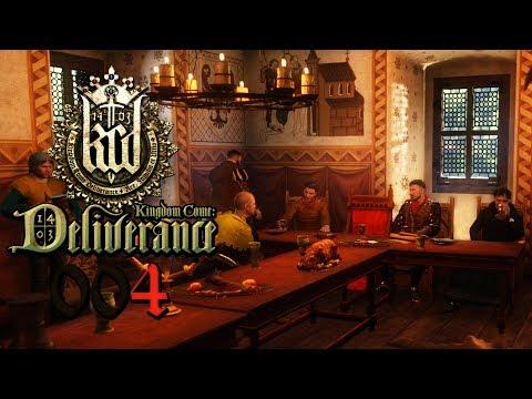 KCD 🔥 [004] Leben am Hofe 💥 Let's Play Kingdom Come Deliverance deutsch
