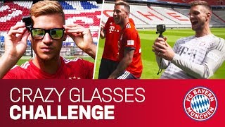 FC Bayern Crazy Glasses Challenge w/ Ribéry, Tolisso, Kimmich, Süle & Ulreich