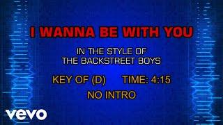 Gambar cover Backstreet Boys - I Wanna Be With You (Karaoke)