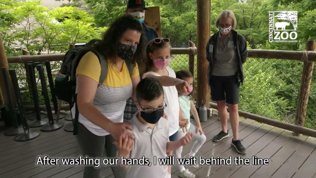 Giraffe Feeding Social Narrative - Cincinnati Zoo
