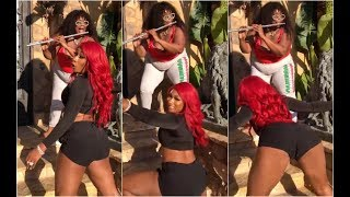 Megan Thee Stallion Twerks To Lizzo Flute