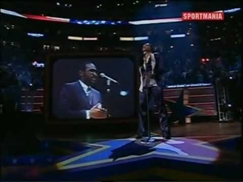 Marvin & Nona Gaye  National Anthem Nba AllstarGame 2004